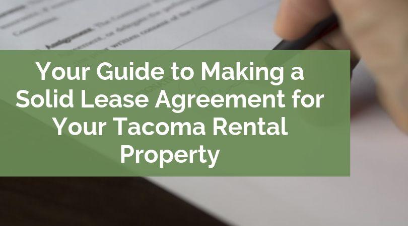 Tacoma-Rental-Lease-Agreement